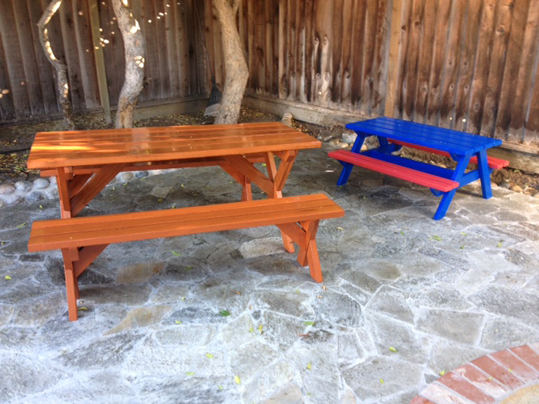 Emerald State Painting-Picnic Tables-1