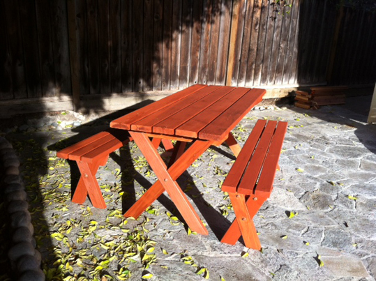 Emerald State Painting-Picnic Tables-3