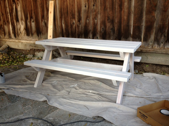 Emerald State Painting-Picnic Tables-5